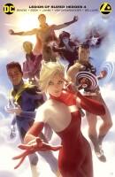Legion Of Super Heroes 4 (Vol. 8) Card Stock Alex Garner...