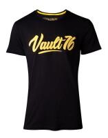 Fallout 76 T-Shirt - Oil Vault 76 (schwarz)