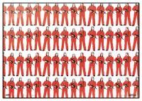 Haus des Geldes Schreibtischunterlage Figures (34,5 x...
