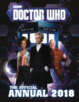 DOCTOR WHO OFFICIAL ANNUAL 2018 HC