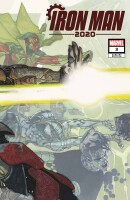 Iron Man 2020 3 (Of 6) (Vol. 2) Bianchi Connecting Variant