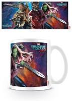 Guardians of the Galaxy Keramiktasse - Group Action (320 ml)