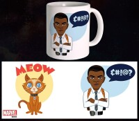 Captain Marvel Keramiktasse - Meow (300 ml)