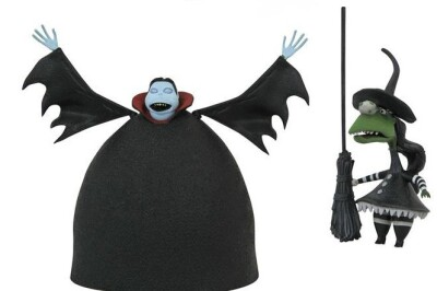 Nightmare Before Christmas Select Serie 8 Actionfigur: Short Vampire & Short Witch