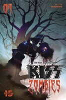 Kiss Zombies 4 Cover B Sayger