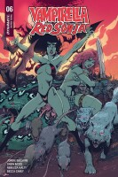 Vampirella Red Sonja 6 FOC Cover