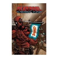 Marvel Comics Poster: Deadpool Bang