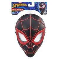 Spider-Man Miles Morales Maske (schwarz) für Kinder...