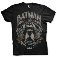 Batman T-Shirt - Dark Knight Crusader (schwarz)