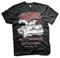 Back to the Future T-Shirt - Biffs Automotive (DeLorean)...