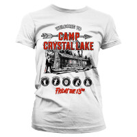 Friday the 13th Damen T-Shirt Girlie: Camp Crystal Lake...