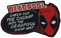 Mavel Comics Fußmatte Deadpool Check Out The Chump