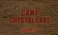 Freitag der 13. Fußmatte Welcome To Camp Crystal Lake