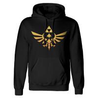 Legend of Zelda Kapuzenpullover - Hyrule Logo (schwarz)