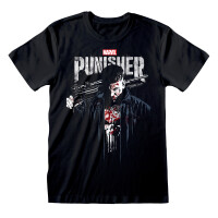 Punisher T-Shirt - Frank Castle TV Poster (schwarz)