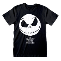 Nightmare Before Christmas T-Shirt - Jack Face