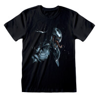 Spider-Man T-Shirt - Venom Art (schwarz)