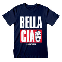 Haus des Geldes T-Shirt Jumbo Bella Ciao (navy)