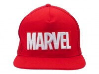 Marvel Baseball Cap Snapback - Classic Red and White Logo...