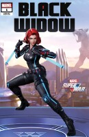 Black Widow 1 (Vol. 8) Marvel Super War Variant