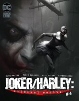 Joker Harley Criminal Sanity 4 (Of 9) Mike Mayhew Variant...