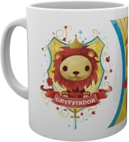 Harry Potter Keramiktasse - Gryffindor Maskot Paint Lion...