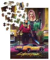 Cyberpunk 2077 Puzzle Kitsch (1000 Teile)