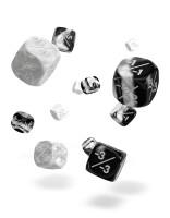 Oakie Doakie Dice D6 Dice 12 mm Marble/Gemidice Positive...