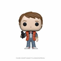 Back to the Future POP! PVC-Sammelfigur - Marty in Puffy...