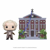 Back To The Future POP! Rides PVC-Sammelfigur - Doc with...