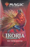 Magic The Gathering (englisch): Ikoria Theme Booster (red)