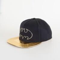 Batman Baseball Cap Snapback - Gold Weld Icon PU Bill
