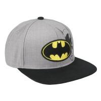 Batman Baseball Cap Snapback - Batman Logo Grey