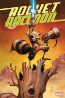 Marvel Comics Poster: Rocket Raccoon (by Skottie Young)