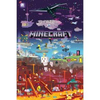Minecraft Poster: World Beyond