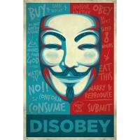 V wie Vendetta Poster: Maske