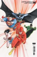 Justice League 47 (Vol. 4) Card Stock Mikel Janin Variant...