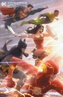 Justice League 49 (Vol. 4) Nick Derington Variant Edition
