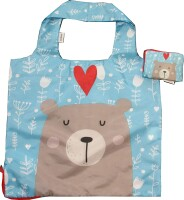 Chilino Einkaufstasche Bag: Bär (50 x 42 cm)