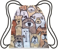 Chilino Backpacker Rucksack: Dogs (37 x 43 cm)