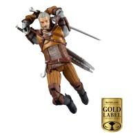 The Witcher Actionfigur Geralt (18 cm) Gold Label Series