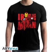 Marvel Comics T-Shirt - Iron Man Graphic (schwarz)