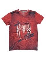 Spider-Man T-Shirt - Acid Wash (rot)