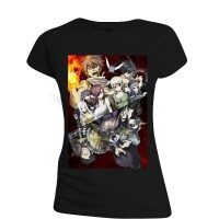 Fairy Tail Damen Girlie T-Shirt - Heartfillia (schwarz)