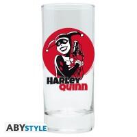 DC Comics Trinkglas Harley Quinn (290 ml)