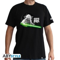 Star Wars T-Shirt - Yoda (schwarz)