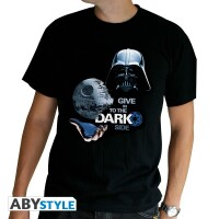 Star Wars T-Shirt - Give in to the Dark Side (schwarz)