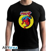 Marvel Comics T-Shirt - Spider-Man Vintage (schwarz)