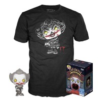 Stephen Kings Es Remake Funko POP! Figur + T-Shirt Set -...