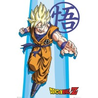 Dragonball Z Poster: SS Goku